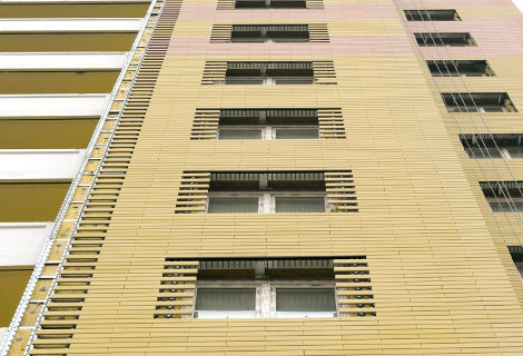 Ventilated facade